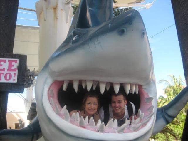 That time we got eaten by a shark