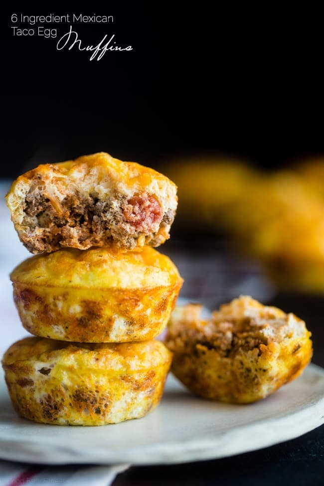 Taco Breakfast Egg Muffins