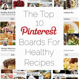 The Top 10 Pinterest Boards to Find Healthy Recipes - Need a whole ton of clean eating recipe inspiration? This list has everything you need from breakfast-dinner, or for any specific diet you're on! | Foodfaithfitness.com | @FoodFaithFit