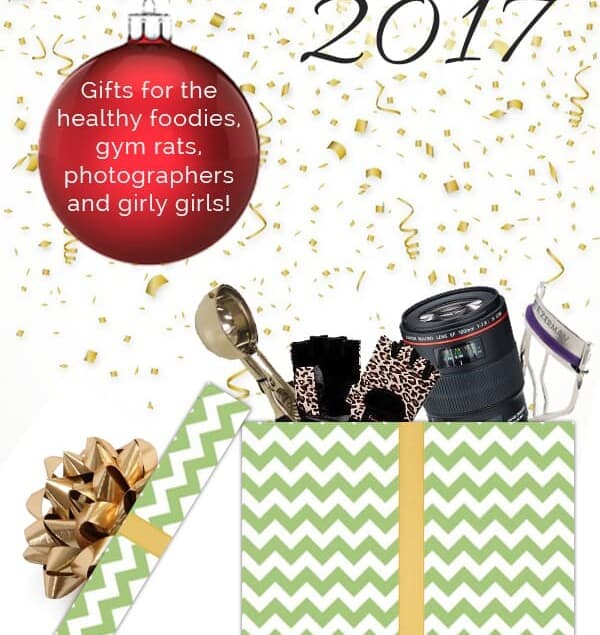 2017 ULTIMATE Holiday Gift Guide - The ultimate Holiday gift guide with ideas to give to the healthy foodies, fitness buffs, girly girls and food photographers in your life! | Foodfaithfitness.com | @FoodFaithFit