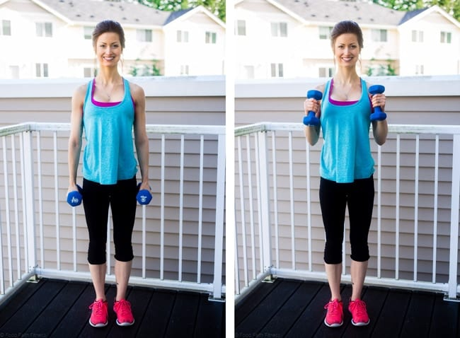 15 Minute Calorie Blasting Full Body Workout - A quick, full body 15 minute workout that will get your heart pumping and muscles burning. You'll burn a ton of calories!   Foodfaithfitness.com   @FoodFaithFit