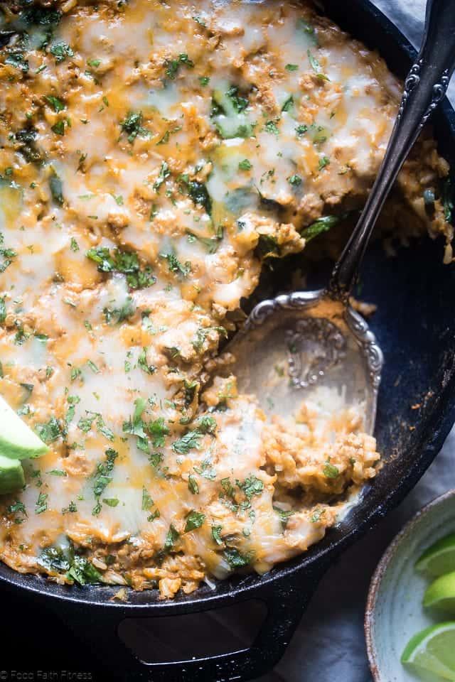 Chicken Mexican Rice Casserole