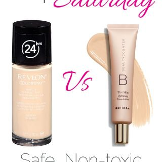 The BEST Safe, Non-Toxic Foundation Review | Foodfaithfitness.com | @FoodFaithFit