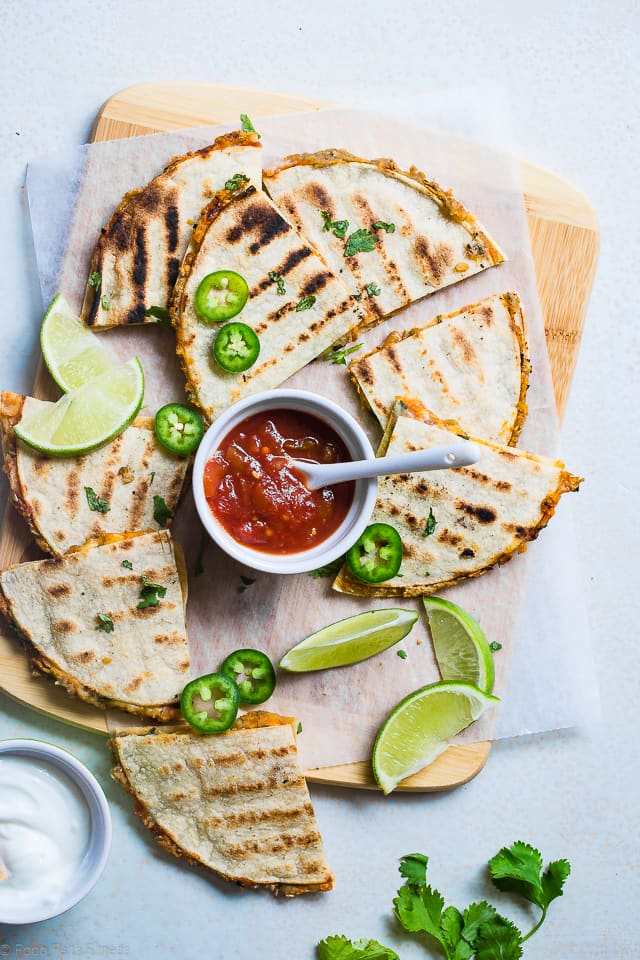 Grilled Mexican Quesadilla Recipe with Lentils