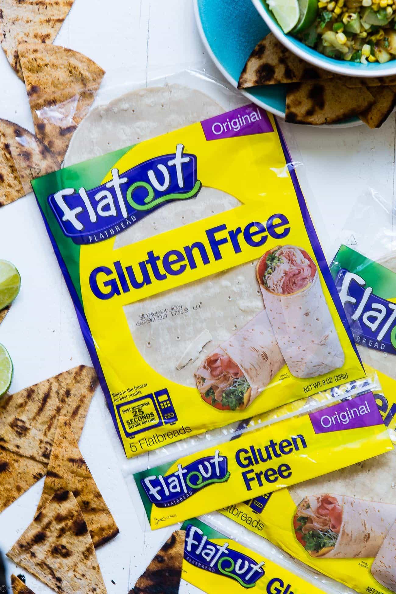 Flatout Gluten Free Flatbread Package