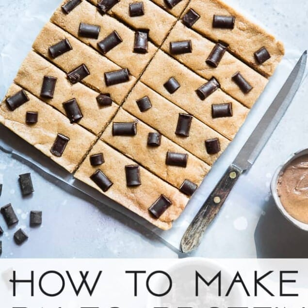 How to Make Paleo Protein Bars -Ever wondered how to make paleo protein bars? Learn how easy it is to make your favorite snack healthy, gluten free and grain free! | Foodfaithfitness.com | @FoodFaithFit