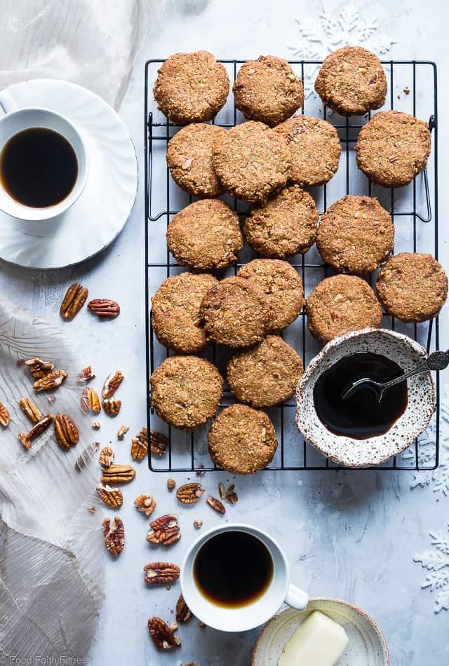 Brown Sugar Chewy Butter Pecan Cookies