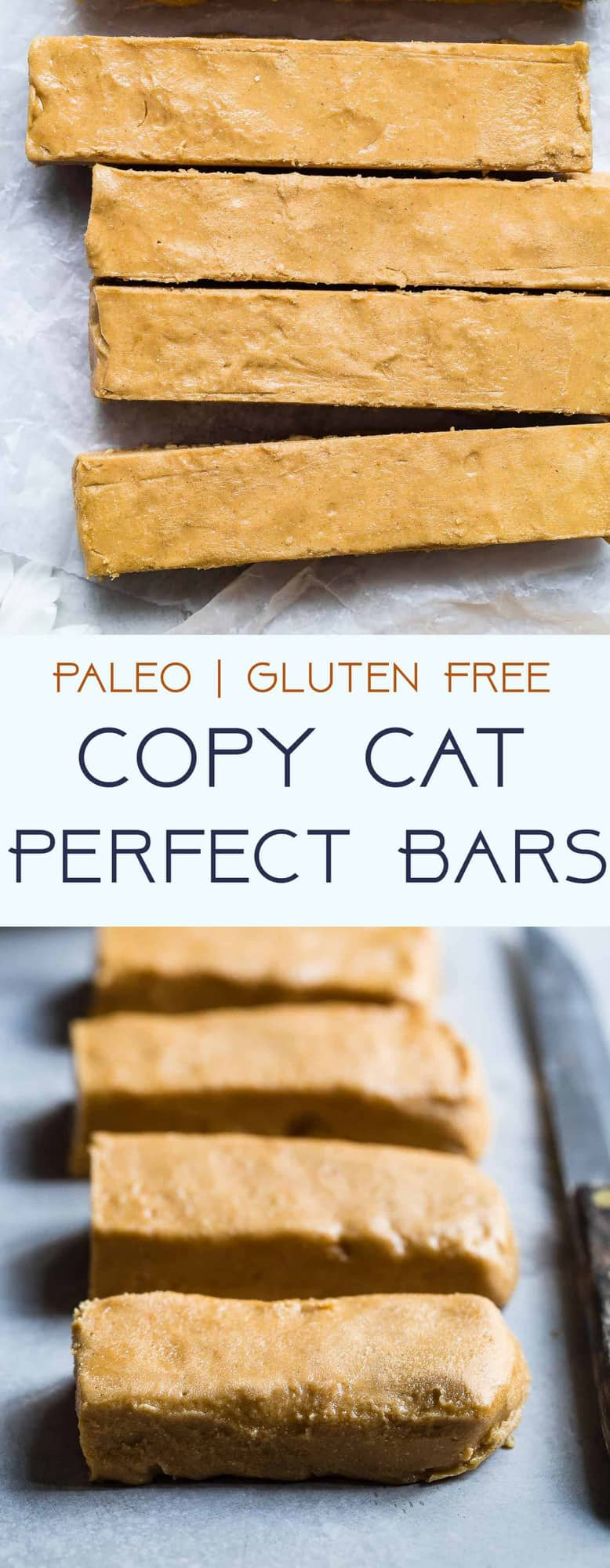 Homemade Perfect Bars - This homemade Perfect Bar Recipe tastes exactly like the store bought version, and is only 5 ingredients and so easy to make! Gluten free and healthy with a paleo option! | #Foodfaithfitness | #Glutenfree #Paleo #Healthy #Dairyfree #Snacks