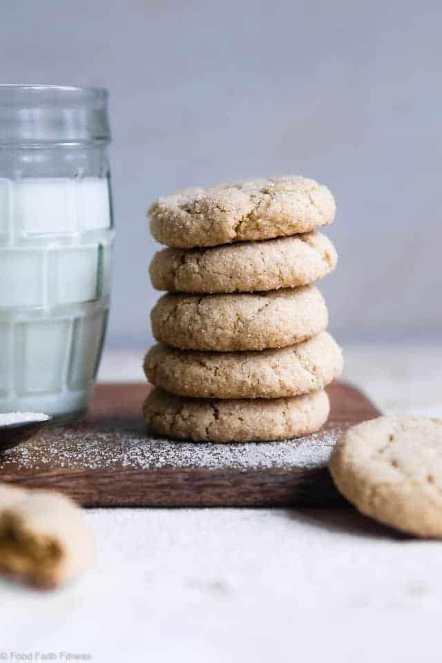 Gluten Dairy Free Vegan Sugar Cookies