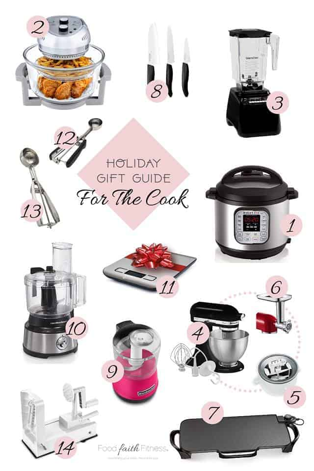 Holiday Gift Guide 2018 - Need some amazing gift ideas for Christmas? I have the BEST ideas for the foodies, gym rats, photographers and besties in your life! | #Foodfaithfitness | #giftguide #christmas #fitness #health