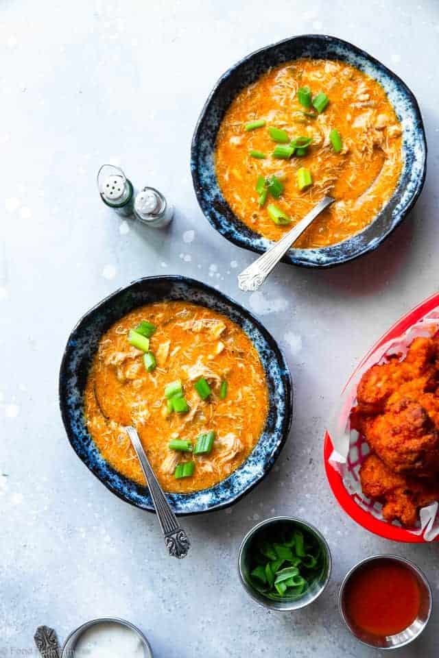 Crock Pot Low Carb Buffalo Chicken Soup