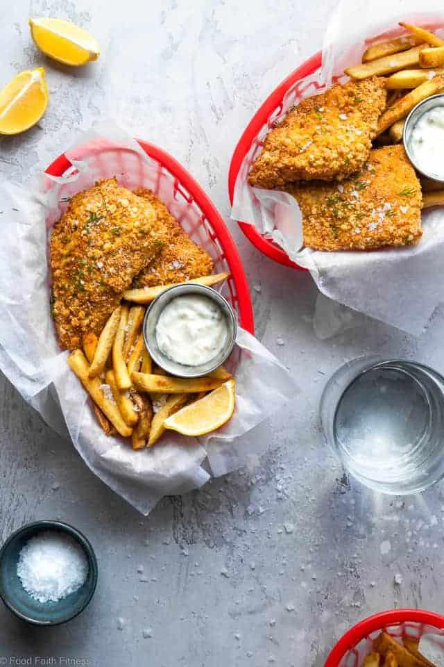 Crispy Air Fried Fish (Gluten Free Option)