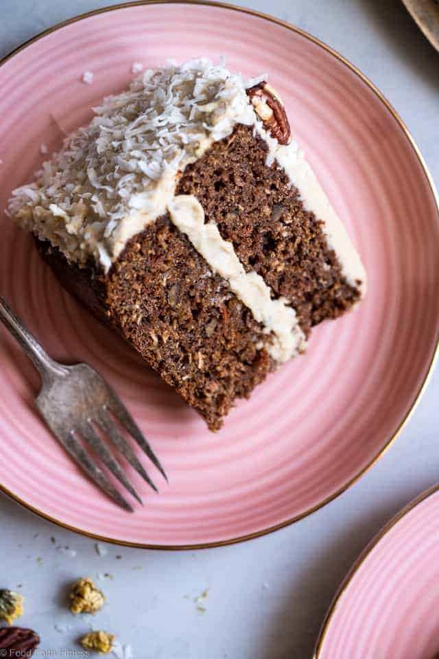 Paleo Carrot Cake with Almond Flour