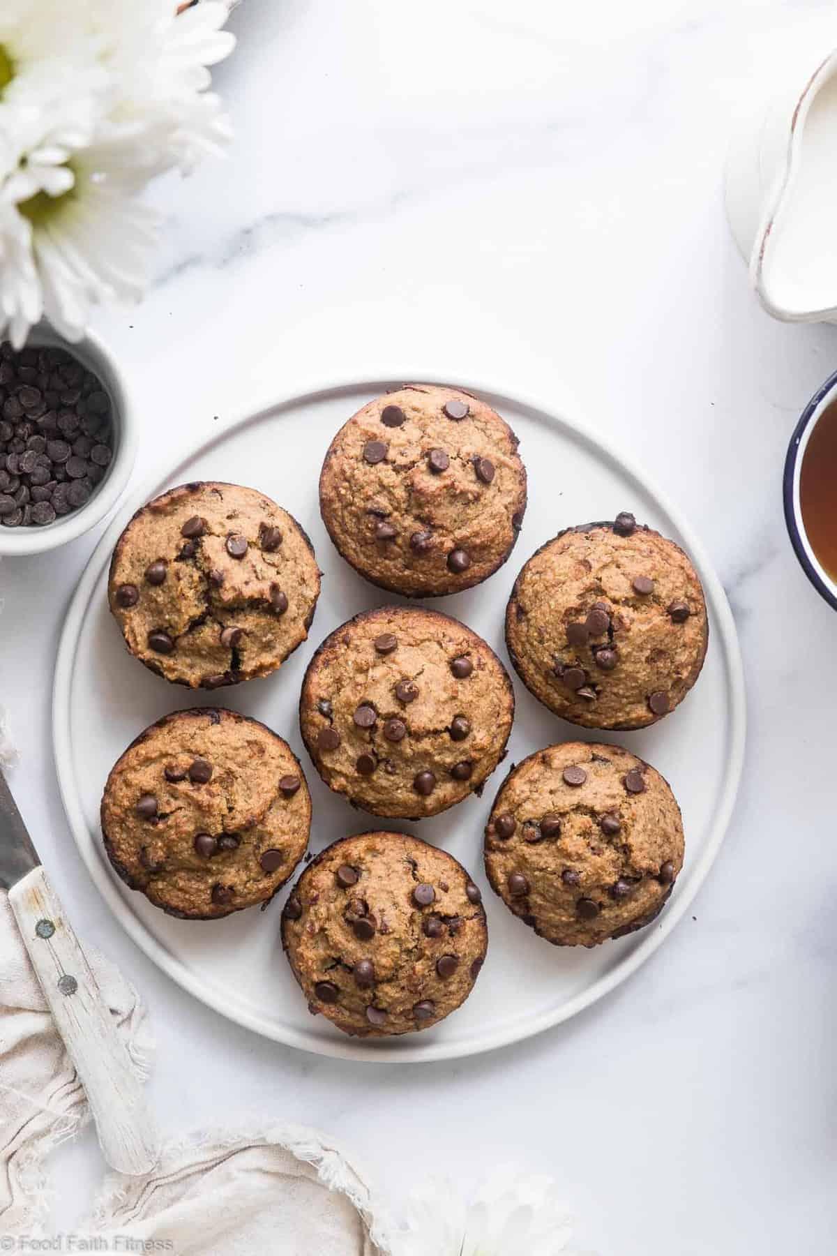 Healthy Gluten Free Zucchini Muffins With Applesauce Food