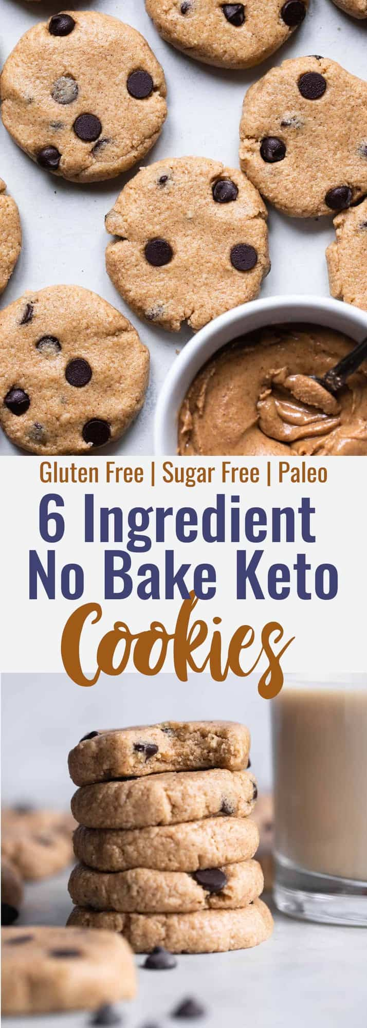 Almond Joy Keto No Bake Cookies - These soft and chewy, low carb and keto no bake cookies are sugar, gluten and dairy free but not taste free! Only 6 ingredients and super simple to make! | #Foodfaithfitness | #Glutenfree #Keto #Sugarfree #Lowcarb #Paleo