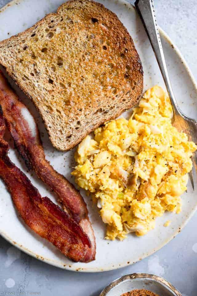 Cod Scrambled Eggs