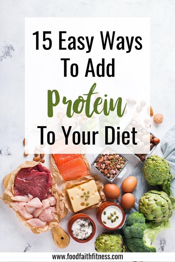 ways to add protein to diet