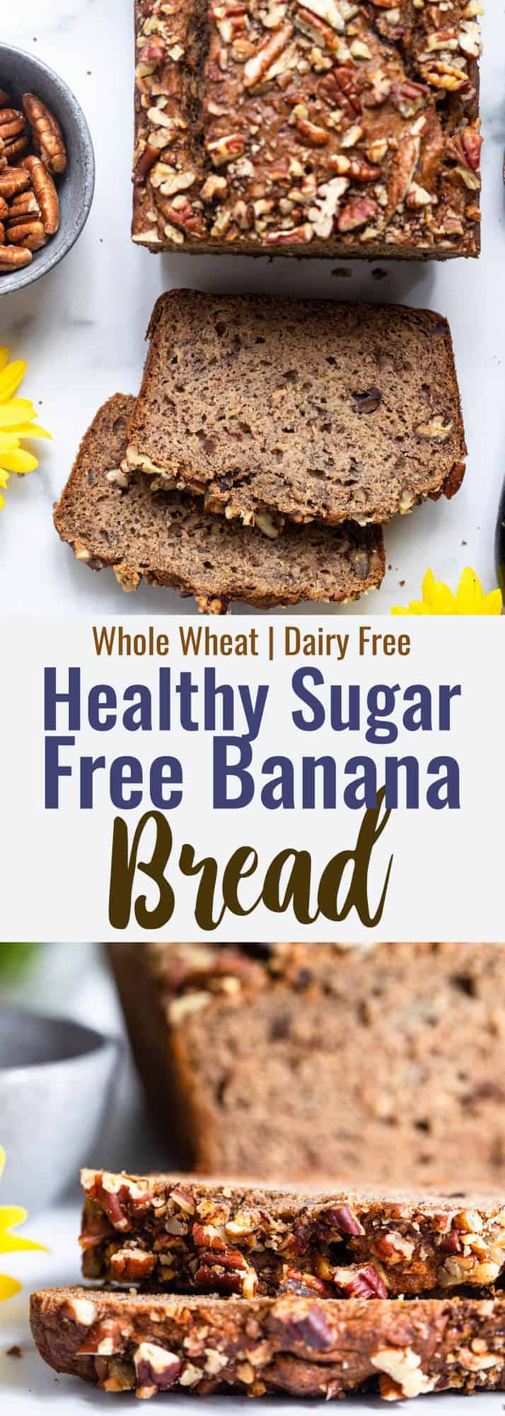 Sugar Free Banana Bread Food Faith Fitness