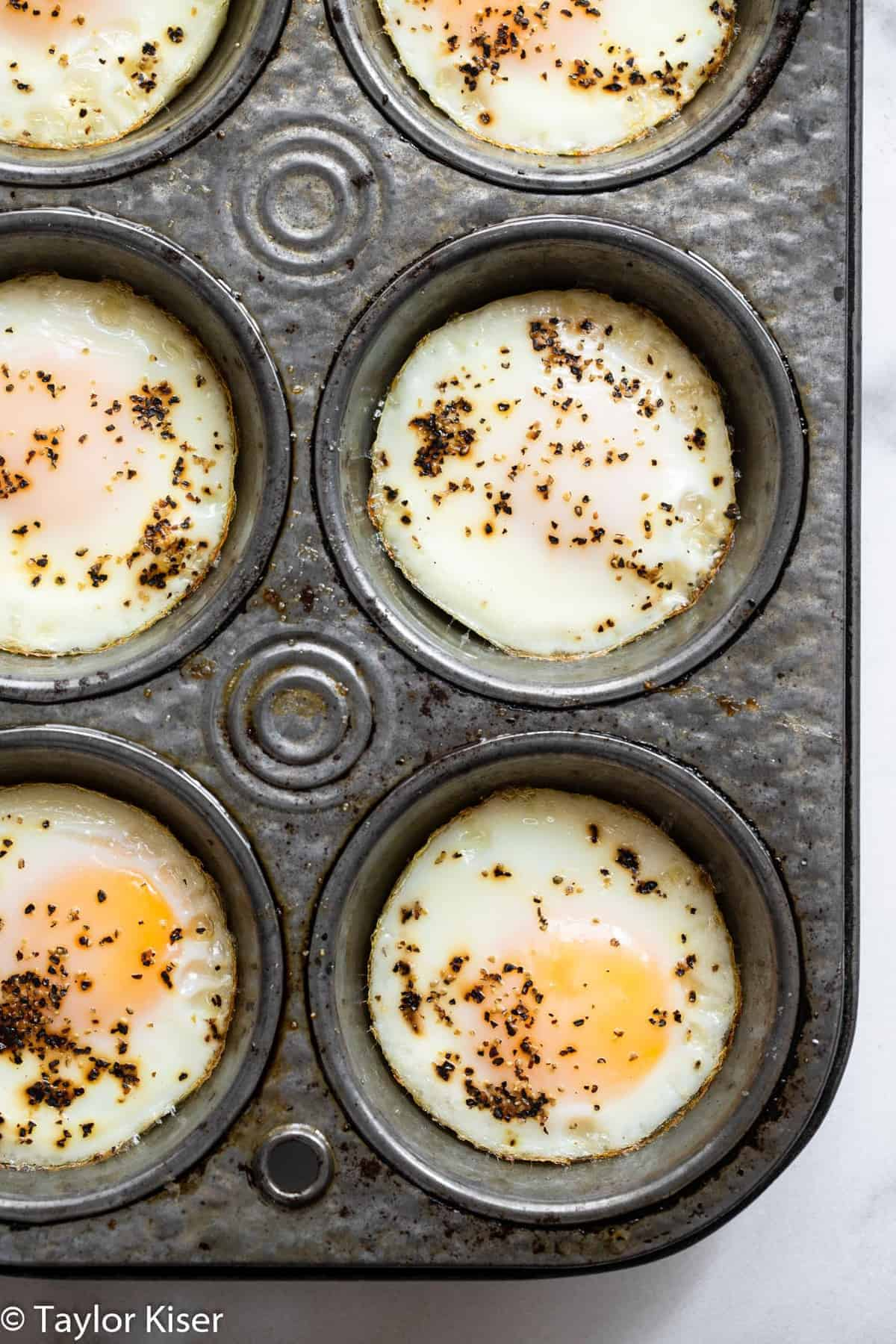 how to cook eggs in the oven