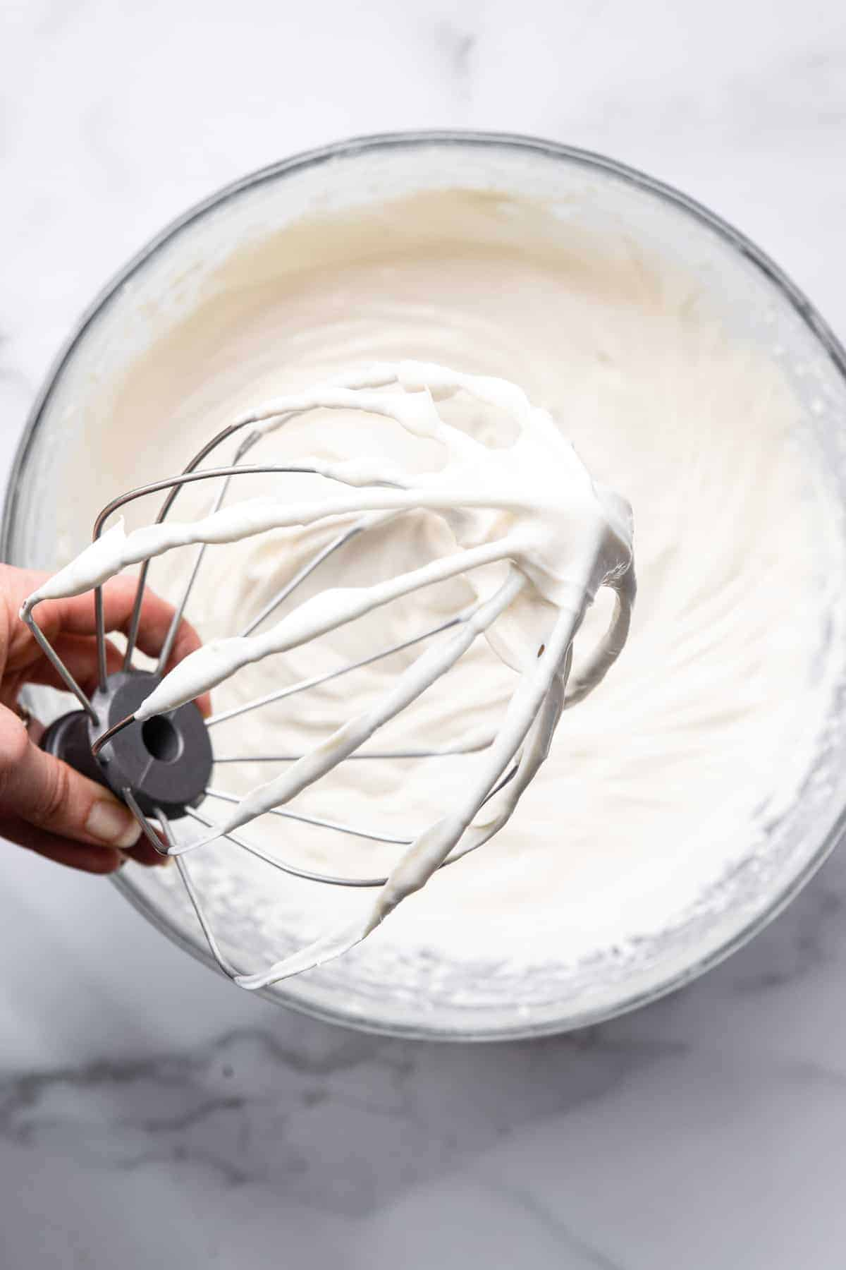 Greek yogurt icing