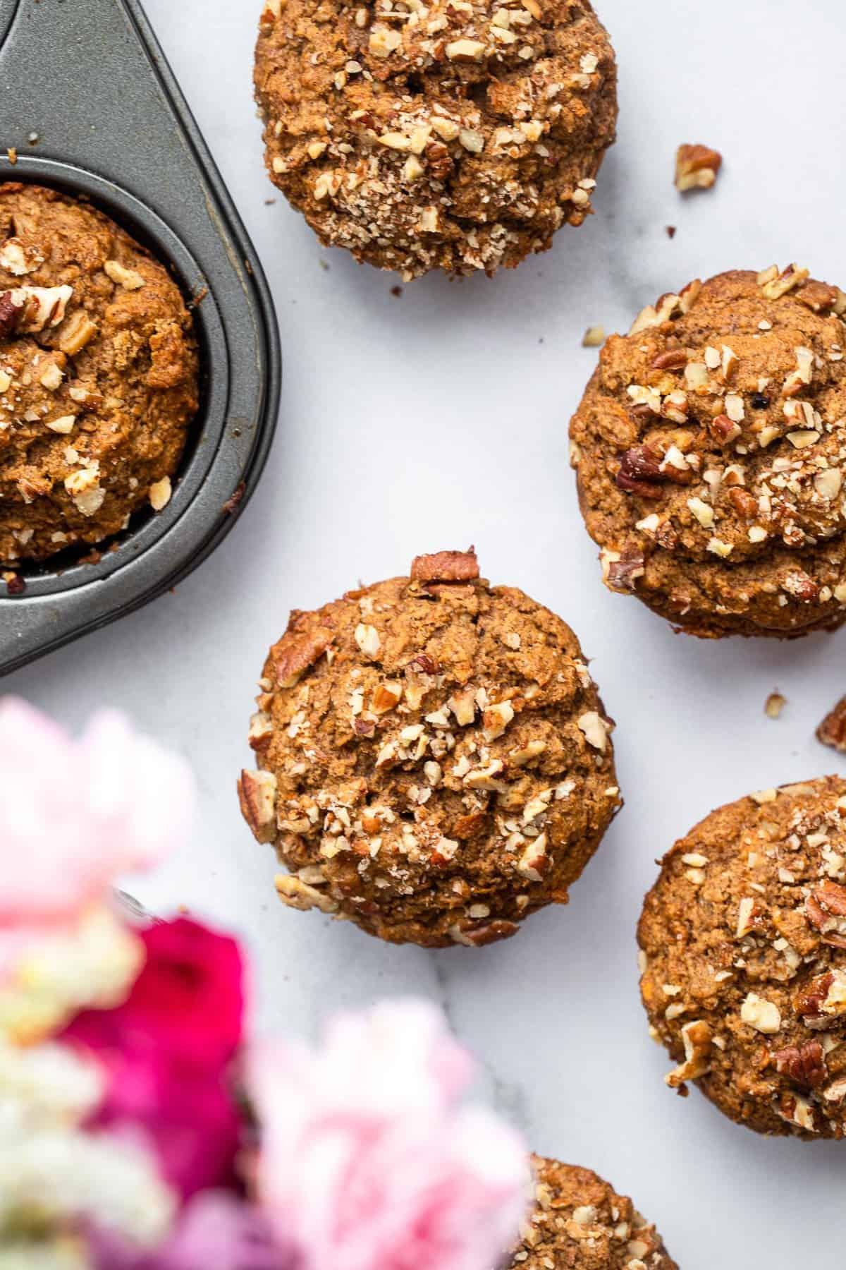 gluten free carrot muffins
