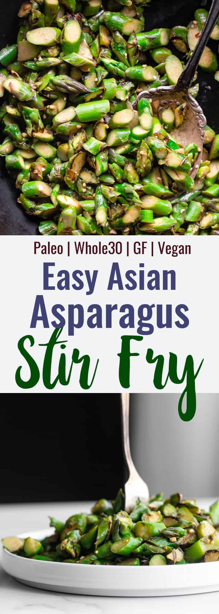 Asparagus Stir Fry collage photo