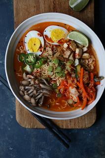 Kimchi Ramen Noodles