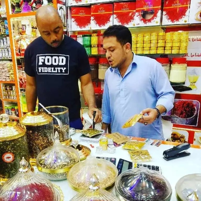two guys at spice souk