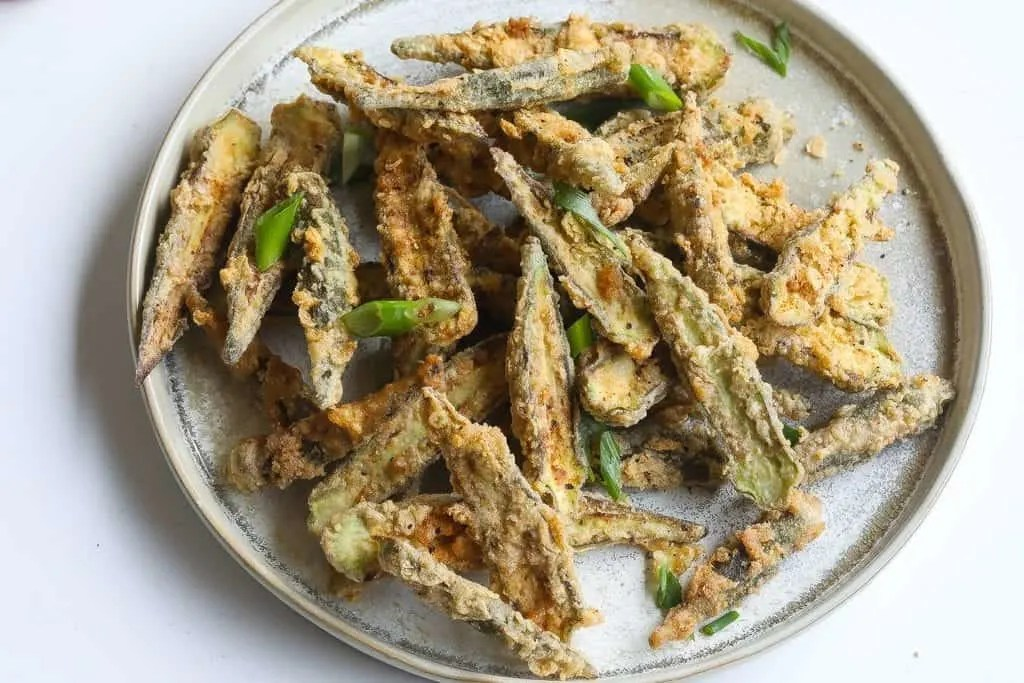 southern fried okra recipe