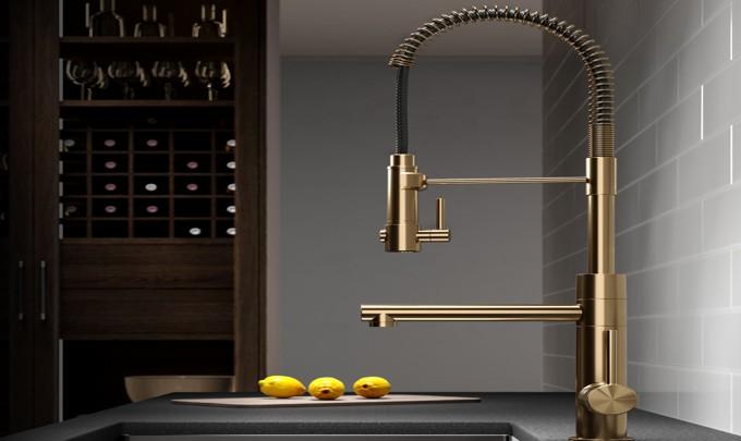 sprayer in kitchen sink faucets