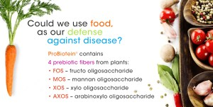 Could we use food, as our defense against disease?