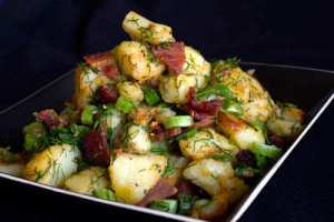 Garlic Roasted Potatoes | Cartofi la Cuptor