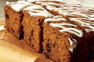 Yummy scrummy carrot cake