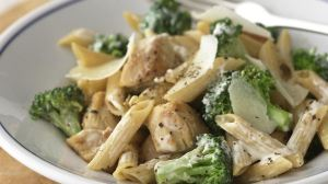 Healthified Chicken and Broccoli-Parmesan Pasta-foodflag