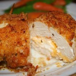 Garlic-Lemon Double Stuffed Chicken-foodflag
