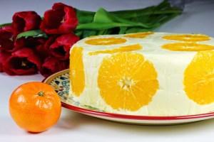 Orange Cream Cake | Tort de Portocale