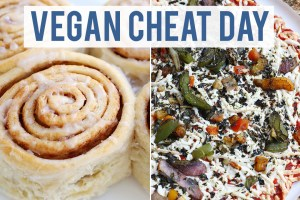 What I Eat On A Cheat Day | VEGAN + SEMI-HEALTHY