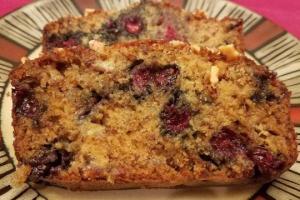 Banana Blueberry Walnut Bread Recipe
