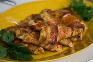 Bacon-Wrapped Chicken Tenders Recipe
