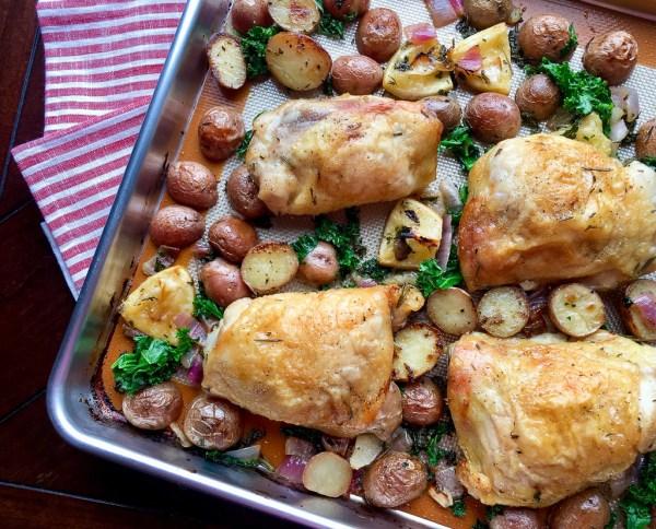 Garlic-Herb Roasted Chicken