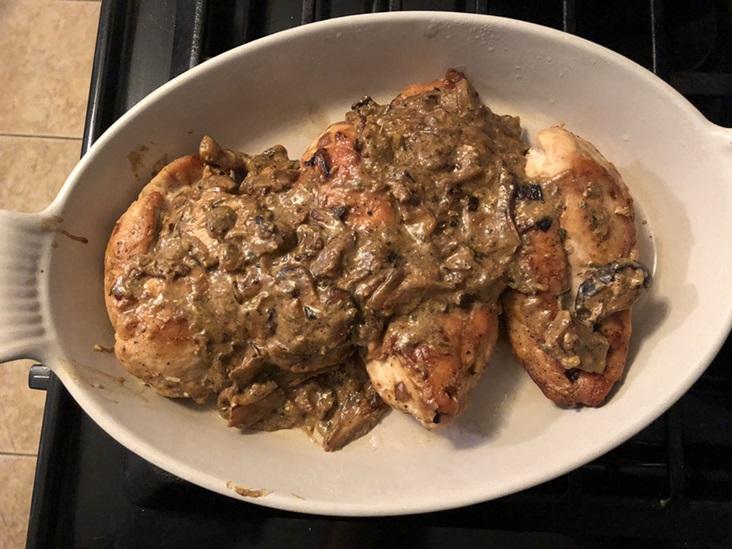 Quick Chicken Fricassee