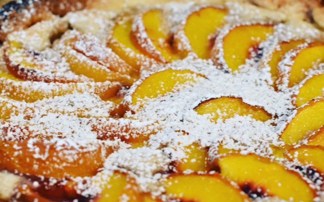 Peach Frangipane Tart