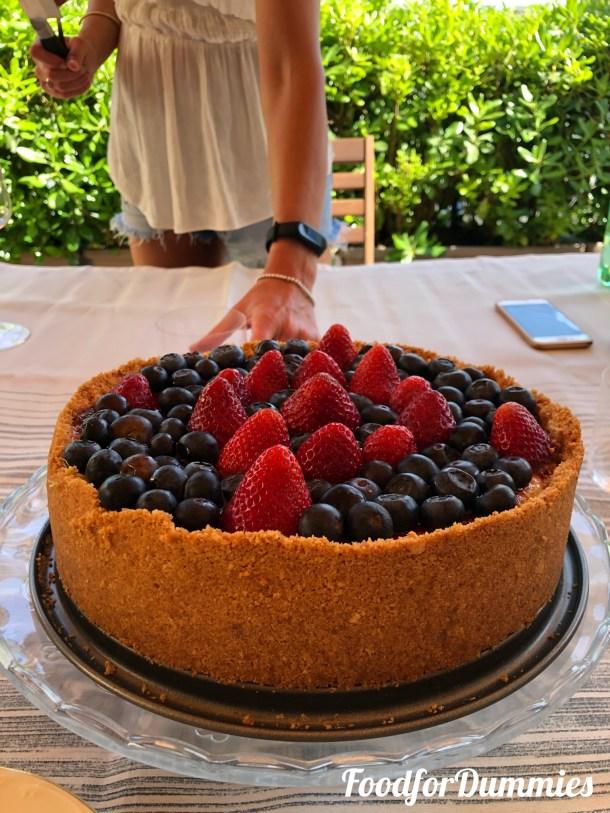 Ricetta New York Cheesecake California Bakery