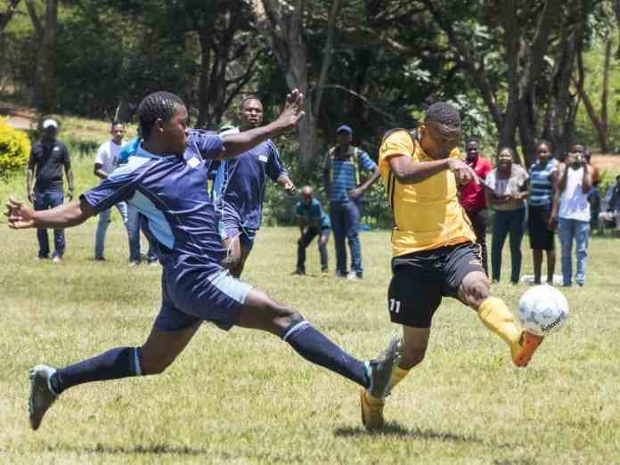 Game of Stars Soccer Tournament initiated by Orlando Pirates legend Mark Fish.