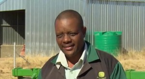 Farmer development: Former Grain SA Potential Commercial Farmer of the Year, Paul Malindi.