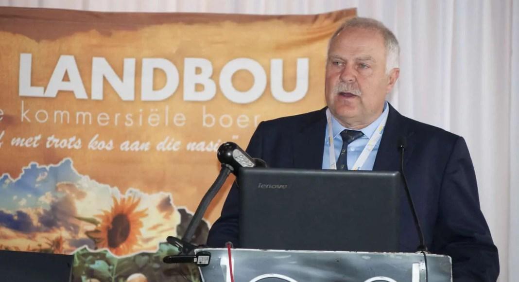 Free State Agriculture President Francois Wilken. Photo: Conrad Bornman