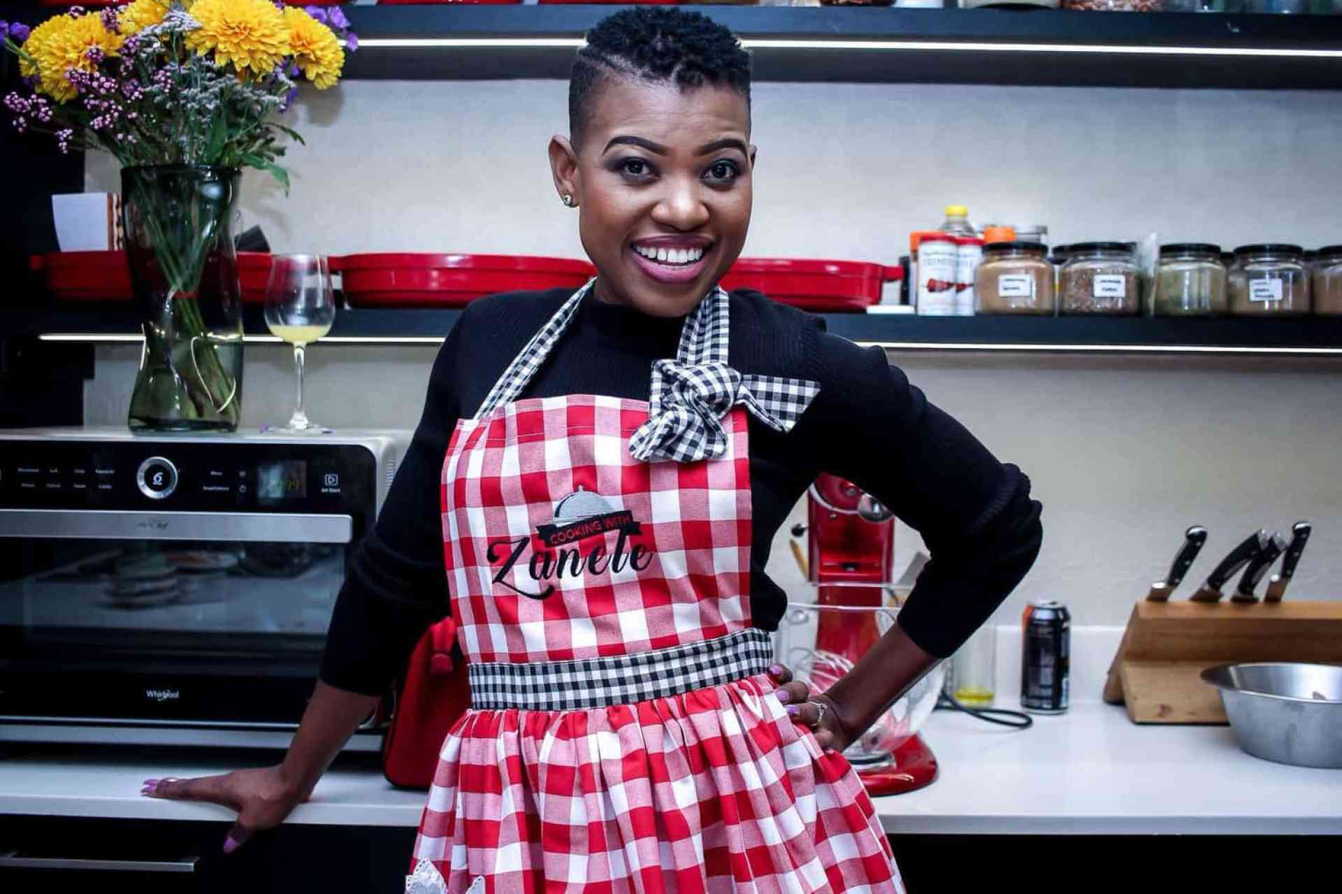 Chef and author Zanele Van Zyl hosts cooking classes and self-published her first cook book in October 2018.