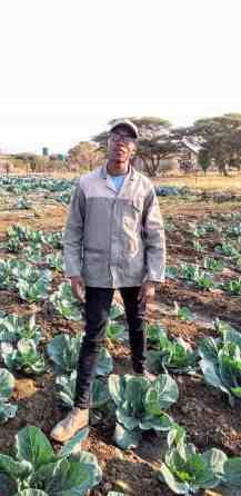 Tshepiso Lekabe is studying towards a diploma in agriculture at the Potchefstroom agricultural college.