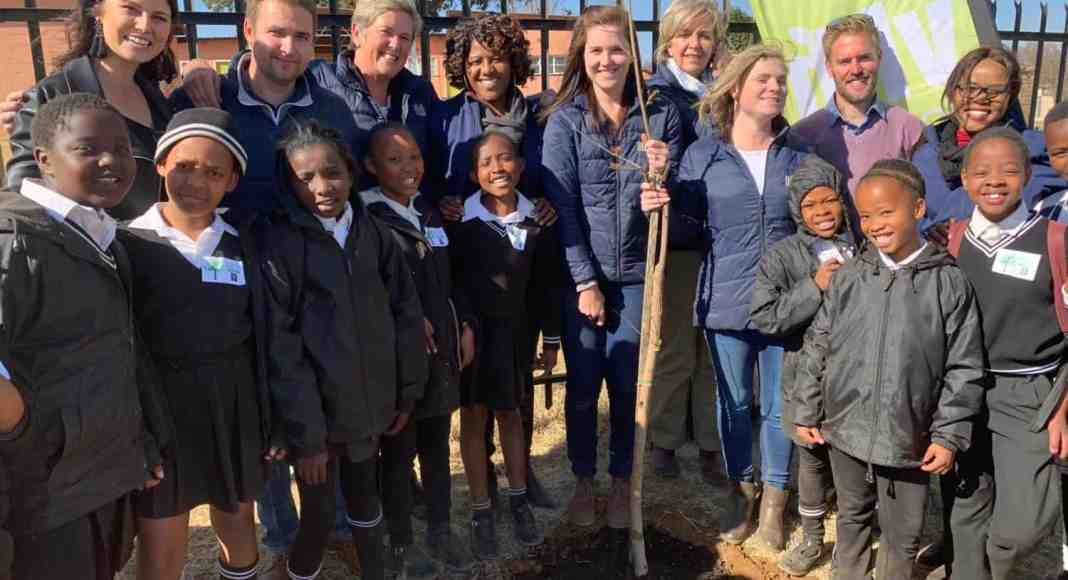 As part of agri company VKB's birthday celebrations, they have worked with various schools and organisations and have planted 500 trees in the Eastern Free State and Limpopo.