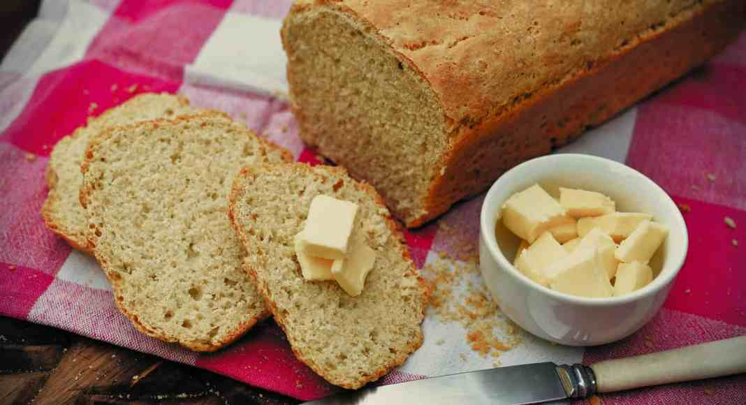 A recipe he learned to bake at age 12, Harald Pakendorf's bread loaf.